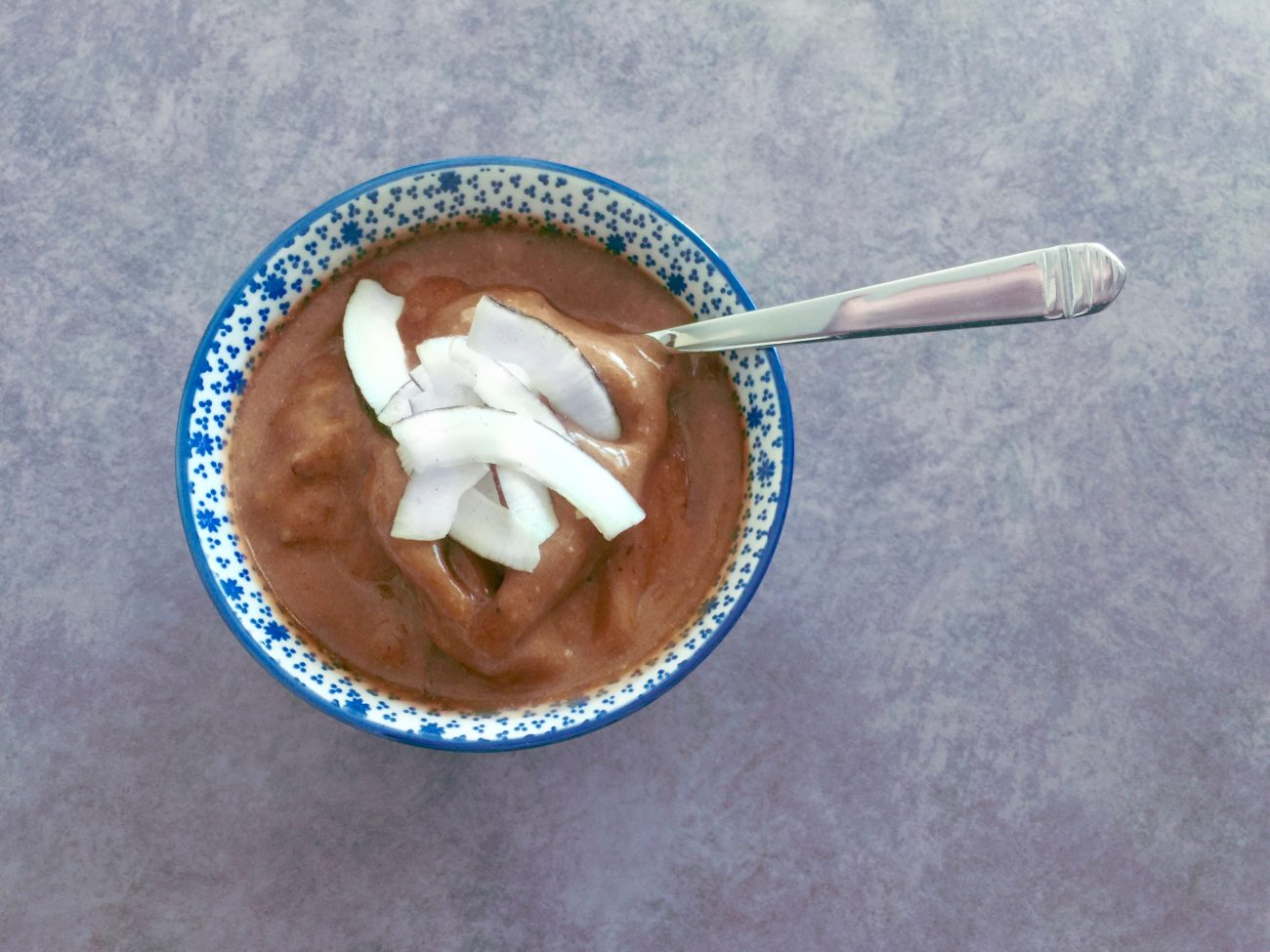 «Nice cream» banane-choco-coco